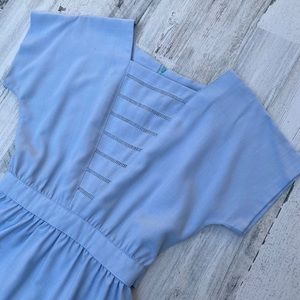 Vintage 70s does 30s Lanz Originals Tea Dress Midi